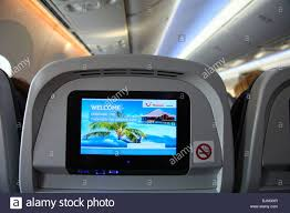 Boeing 787 Dreamliner Interior Interior Of A Boeing 787 Dreamliner Thompson Airways Aircraft