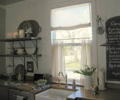 Kitchen Bay Window by Kitchen Accessories Curtain Ideas For A Kitchen Bay Window