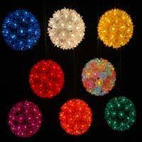 starlight led christmas lights starlight spheres novelty lights inc