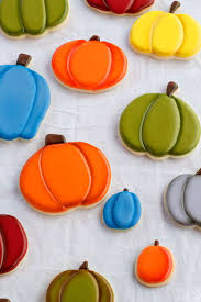 212 best sugar cookies with royal icing halloween fall images on