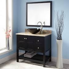 bathroom vanities fabulous vanity cabinet black vessel mirror