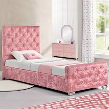 Pink Bed Frames Princess Bed Ebay
