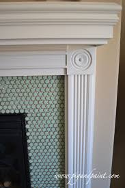 Tiled Fireplace Wall by 10 Best Mantel Tile Ideas Images On Pinterest Fireplace Design