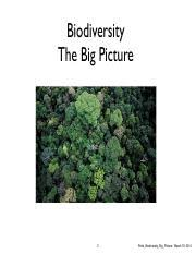 Obat Bioin lecture 26 biodiversity the big picture 2