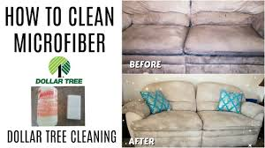 How To Clean Microfiber Chair How To Clean Microfiber Dollar Tree Cleaning Youtube