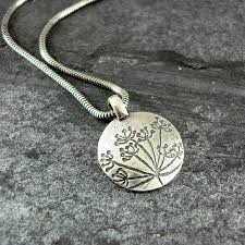 silver drop pendant necklace images Cow parsley silver drop pendant by camali design jpg