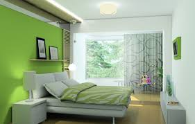 living room bedroom ideas with green and white combination color