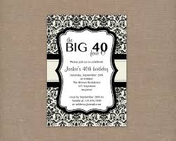 40th birthday invitation wording badbrya