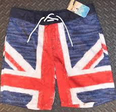 American Flag Swimming Trunks Union Jack Shorts Ebay