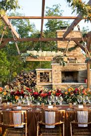 Backyard Fall Wedding Ideas 36 Awesome Outdoor Décor Fall Wedding Ideas Weddingomania