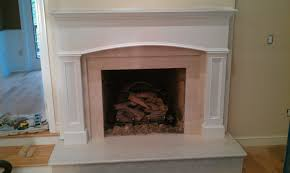 Granite For Fireplace Hearth Electric Fireplace Surround At Black Marble Mantel Panel With