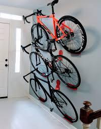 multiple bikes hanging rack system dahanger dan pedal hook