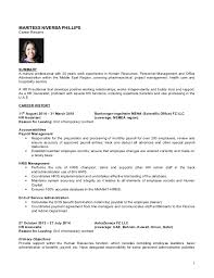hr resume examples examples of hr resumes human resources hr