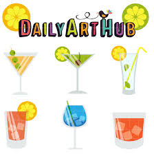 mixed drink clip art cocktails clip art set daily art hub free clip art everyday
