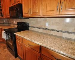 Blue Pearl Granite Countertop Backsplash Ideas  SMITH Design - Granite tile backsplash ideas