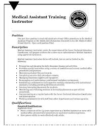 Sample Medical Assistant Resume by Resume Objective Example Medical Assistant