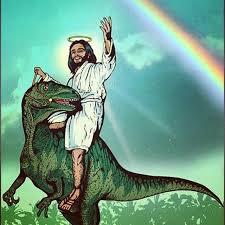 Dinosaur Meme Generator - jesus riding a raptor meme riding best of the funny meme