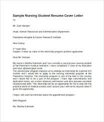 cover letter nursing student 28 images 8 nursing cover letter