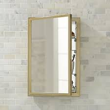 Bathroom Mirrors And Cabinets Bathroom Mirrors Crate And Barrel