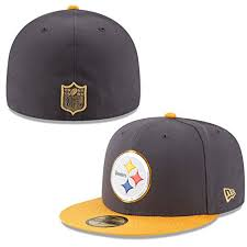 new era nfl hat pittsburgh steelers on field gold
