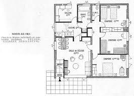plan maison 80m2 3 chambres de maison s 3 gratuit