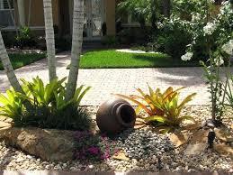 Rock Garden Cground Rock Garden With Potted Plants Cool Rock Garden For Contemporary