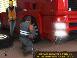 superheroes trucks car garage monster army truck mechanic simulator android apps on google play