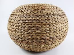 Basket Ottoman by Tips Comfort Floor Pouf For Any Modern Decor U2014 Gasbarroni Com