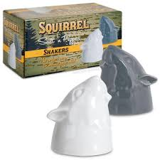 Salt And Pepper Shakers Squirrel Salt And Pepper Shakers Archie Mcphee U0026 Co