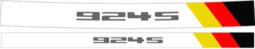 porsche 944 logo for sale large vinyl porsche logo for garage or trailer page