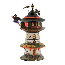 department 56 halloween village halloween village witch way home tower department 56