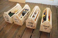 diy wood tool cabinet tool box handcrafted single layer wood tool box with four