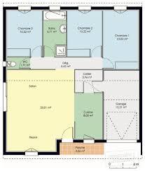 plan maison simple 3 chambres maison accessible dé du plan de maison accessible faire