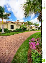 florida luxury home with pillars stock photo image 46371410