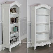 28 white tall bookshelves white wooden bookcase