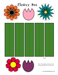 10 best images of printable paper flower crafts free printable
