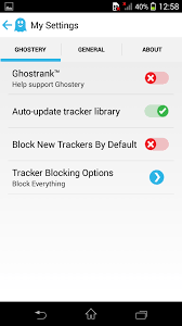 ghostery android ghostery privacy android browser with in built ad blocker