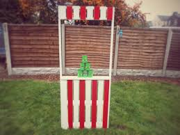 upcycled pallet carnival stall backyard diy
