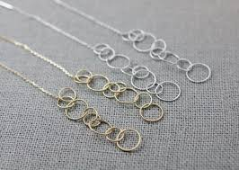 long silver rings images Open star necklace in gold silver JPG