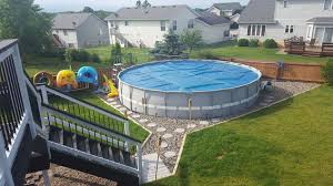 making an outdoor oasis around your intex pool hometalk