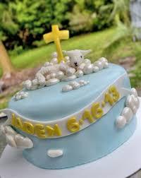 lamb cake christening cake baby lamb christening cake fondant