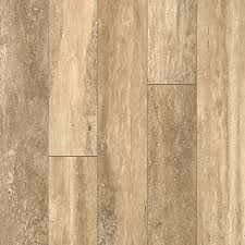 Laminate Flooring Tiles Shop Allen Roth 5 23 In W X 3 93 Ft L Estate Stone Smooth Tile