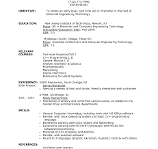 resume sle for job applications awfulctive job resume internship career application statement for