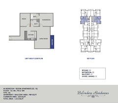 belvedere international city floor plan 1 plus study