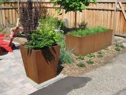 the 25 best corten steel planters ideas on pinterest corten
