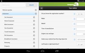 google quotezone compareni insurance comparison android apps on google play