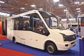 volkswagen crafter interior commercial vehicle show 2015 focus on minibus developments bus