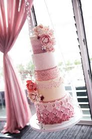 the most adorable wedding cakes with vivid pastels page 8 of 15