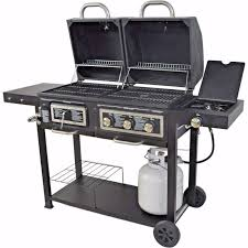 backyard grill brand reviews backyard grill dual gas charcoal smoker outdoor bbq propane party