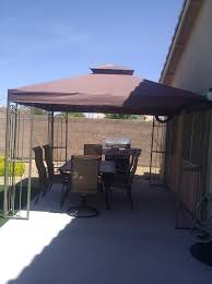 Small Patio Gazebo by Gazebo Replacement Canopy Top Cover Replacement Canopy For Gazebo